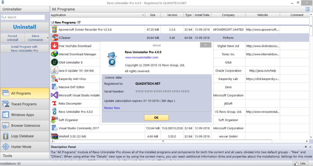 Revo Uninstaller Pro 64-Bit Crack v4.1.0 Multilingual Patch Latest