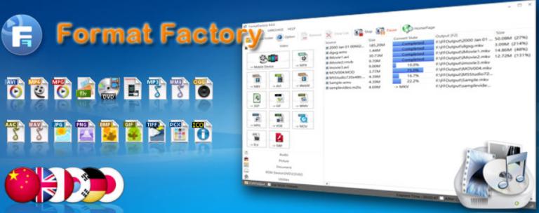 Portable Format Factory 4.8.0.0 Full Crack + Latest Key [Offline_Install]