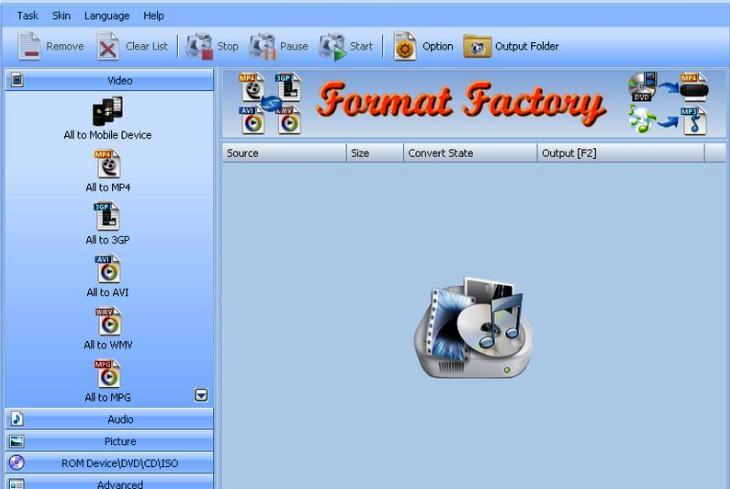 Portable Format Factory 4.8.0.0 Crack