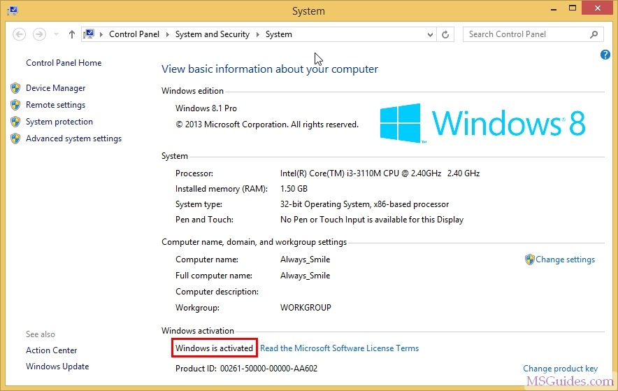 Windows 8 Pro Activator Download