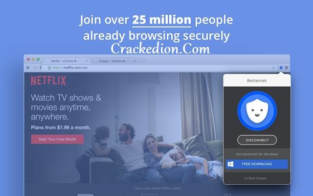 Betternet VPN Premium Crack For PC Latest Version 5.2.0 [Portable]
