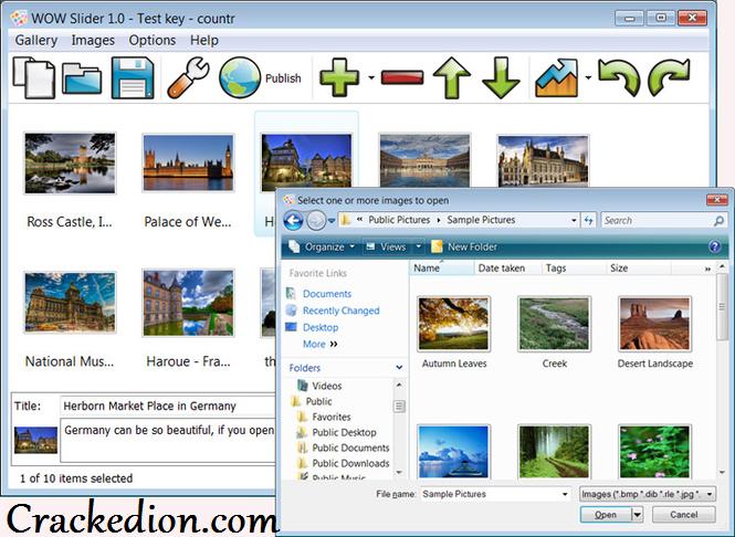 Wow Slider Software 8.8 Free Download