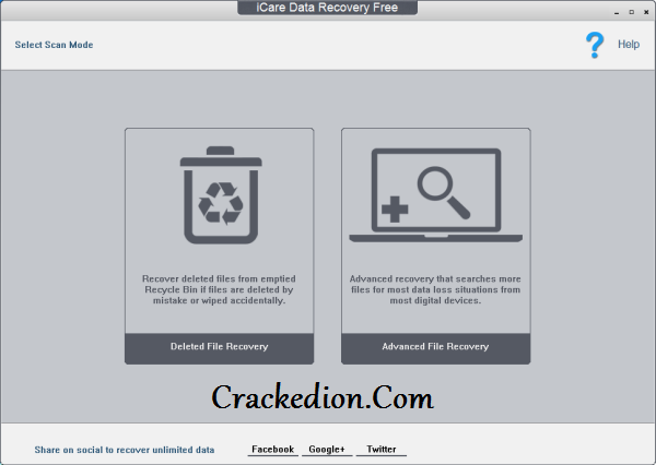 iCare Data Recovery Software Crack